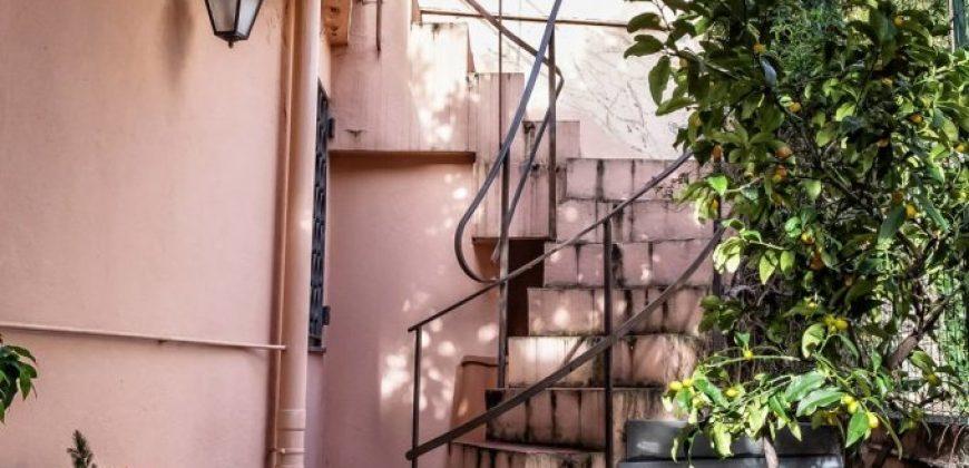 Villino Nervi adiacente viale delle Palme