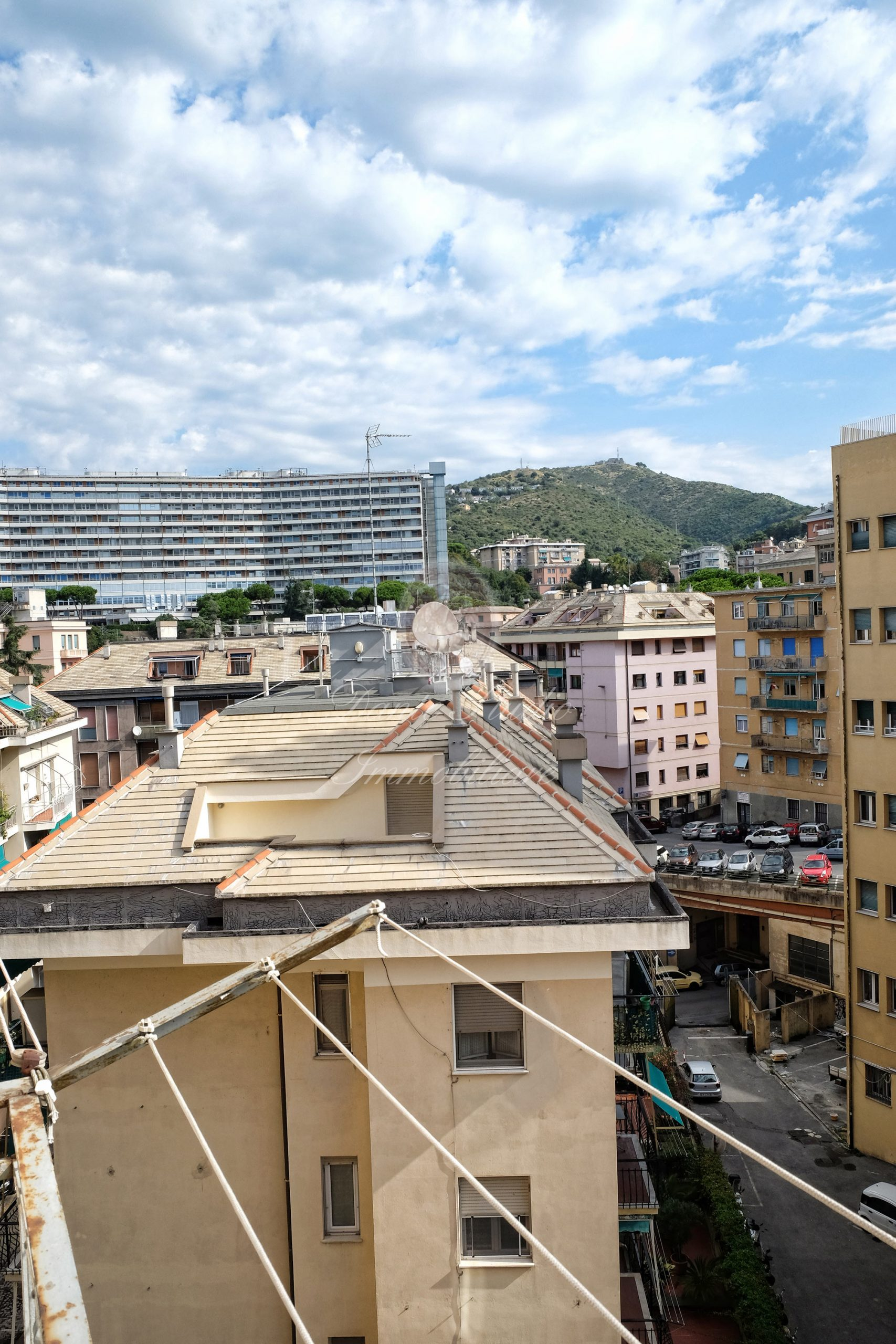 via San Martino 95 mq con balconi
