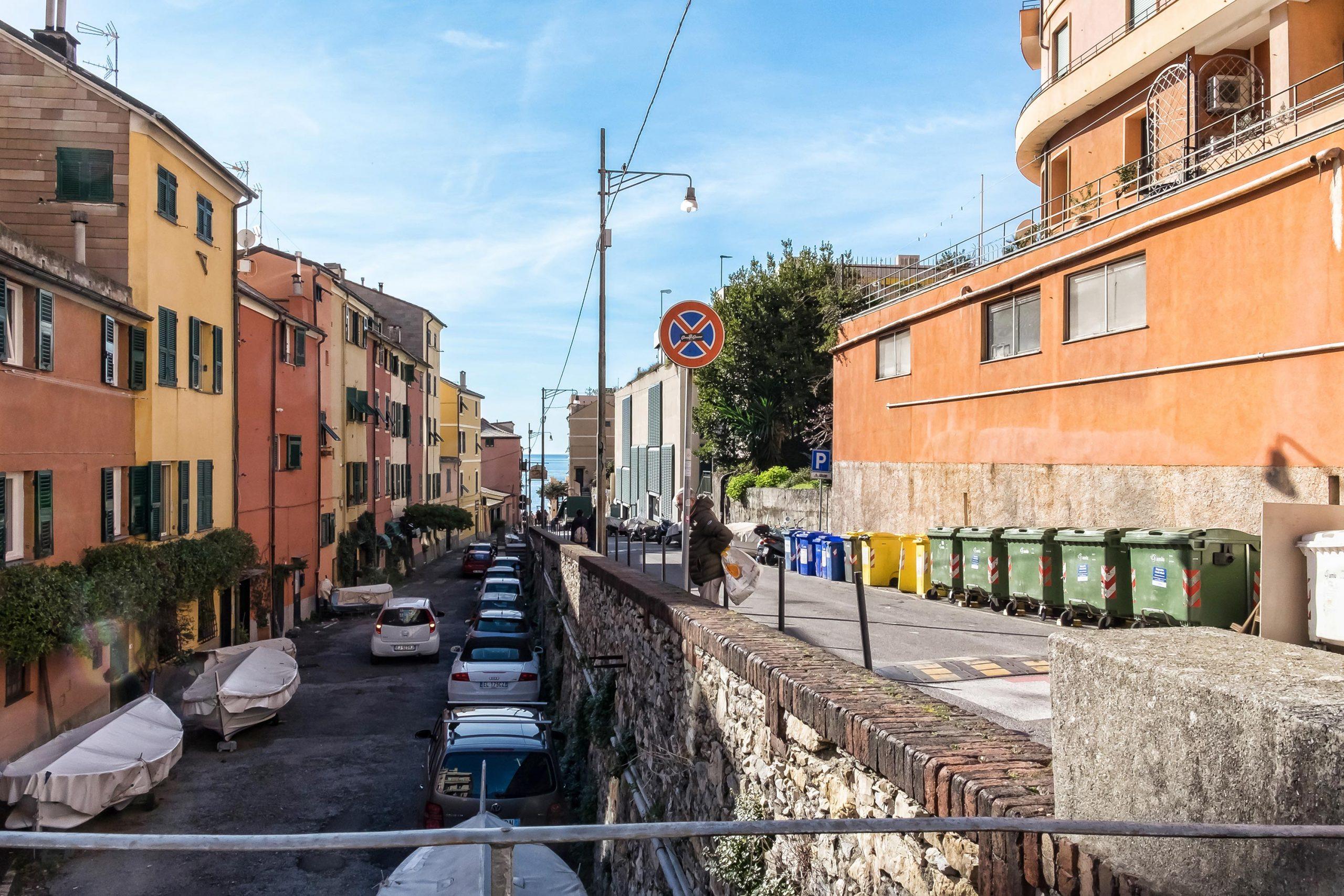 Boccadasse Via Nicolò Dodero 130 mq vista mare