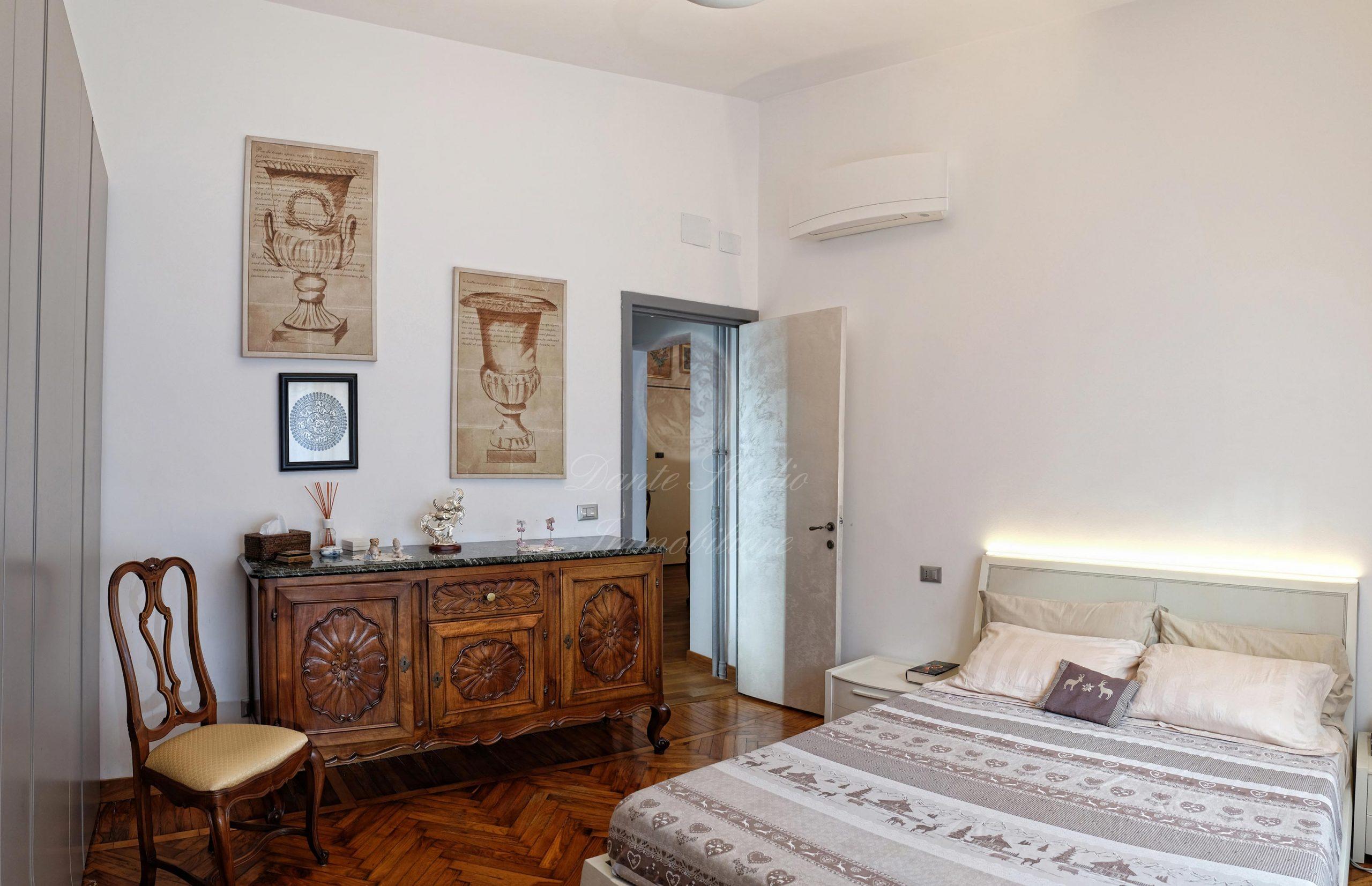 Albaro Via Forte di San Giuliano 100 mq con giardino di 50 mq