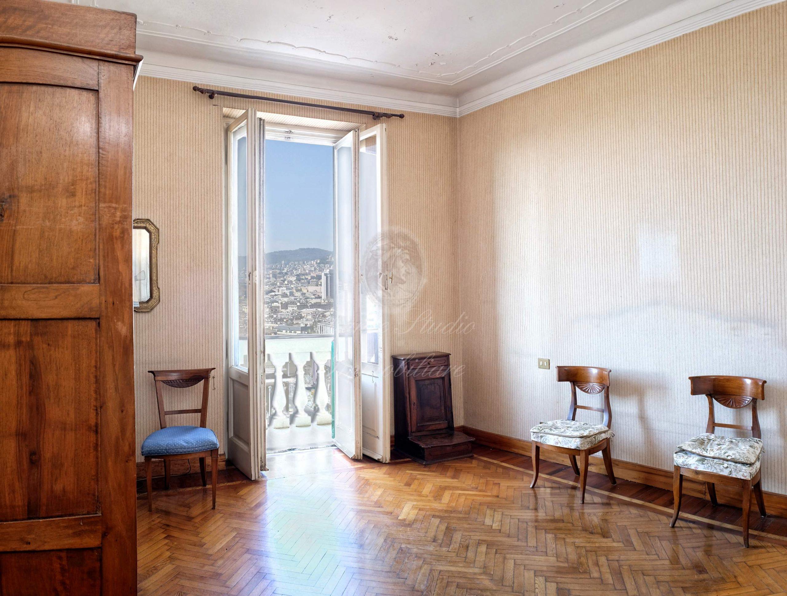 Albaro Via Trento 140 mq panoramici mare